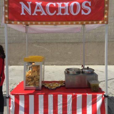Carpas de Concesiones de Nachos
